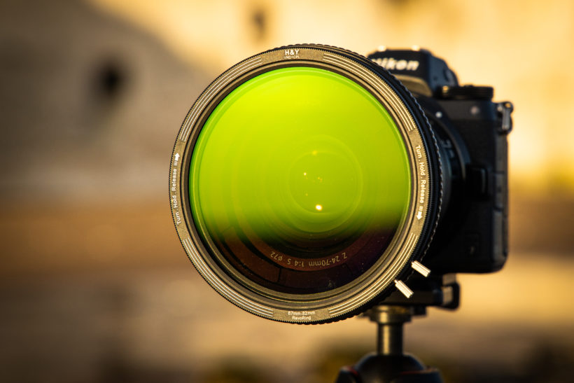 H&Y RevoRing VND+CPL filter review