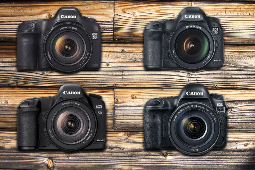 Celebrating the Canon EOS 5D series