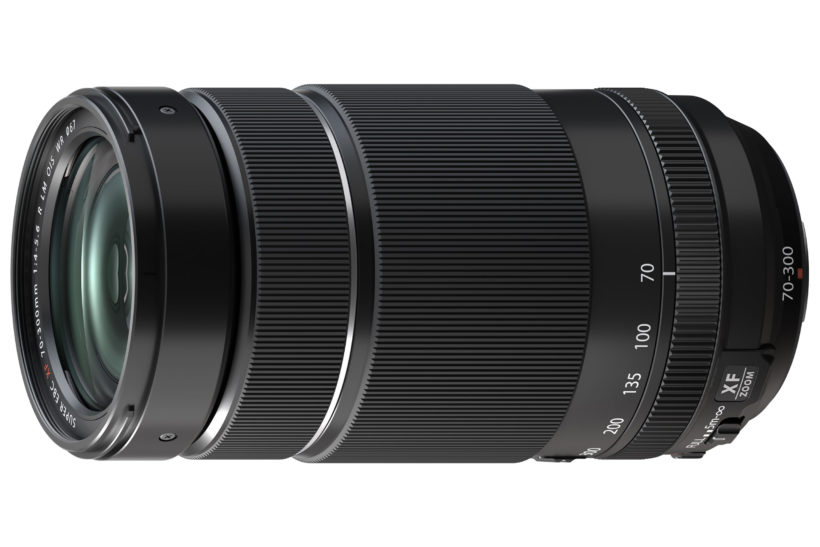 Two new Fujifilm X-system lenses, including 70-300mm telezoom
