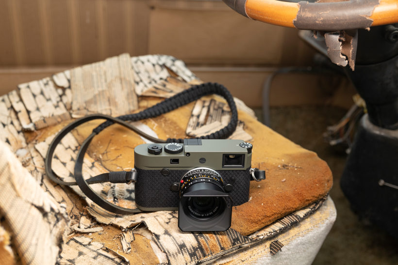 New Leica with 'green' credentials aimed at photojournalists