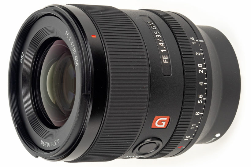 Sony reveals FE 35mm F1.4 GM