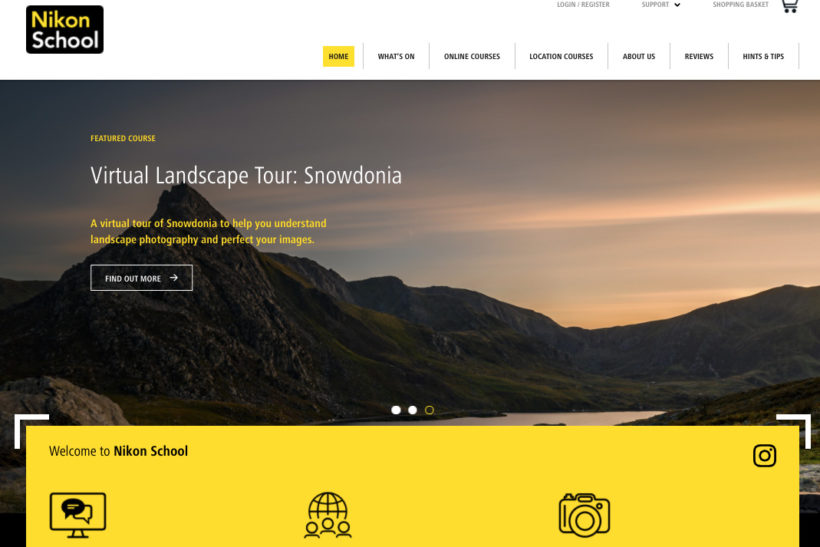 Nikon School Online revamped – and you can get a 20% discount