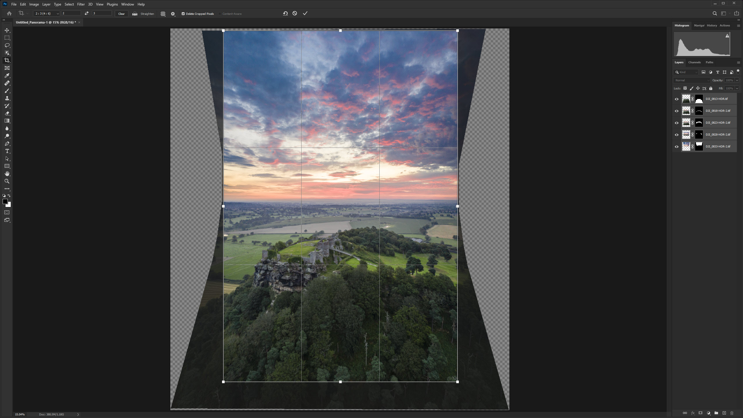 How to create vertical panoramas with drones - Amateur Photographer