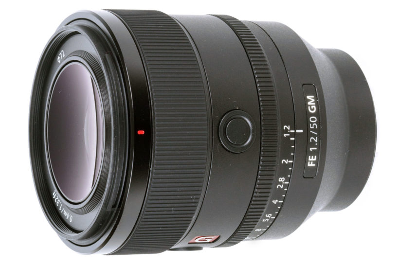 Ultra-fast Sony FE 50mm F1.2 GM unveiled