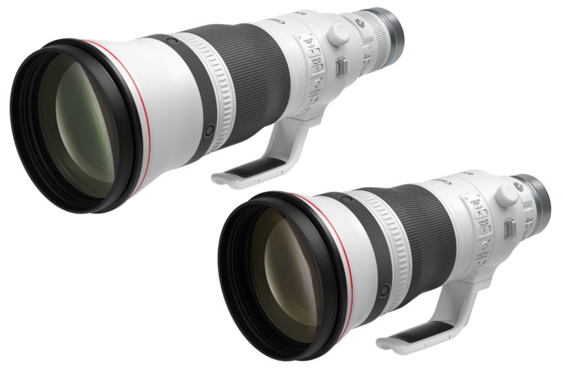 Revamped Canon super-telephotos for RF mount