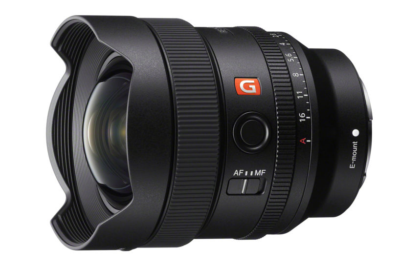 Sony unveils ultra-wideangle FE 14mm F1.8 GM