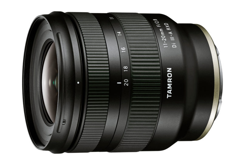 Tamron unveils wide and fast 11-20mm F/2.8 Di III-A RXD