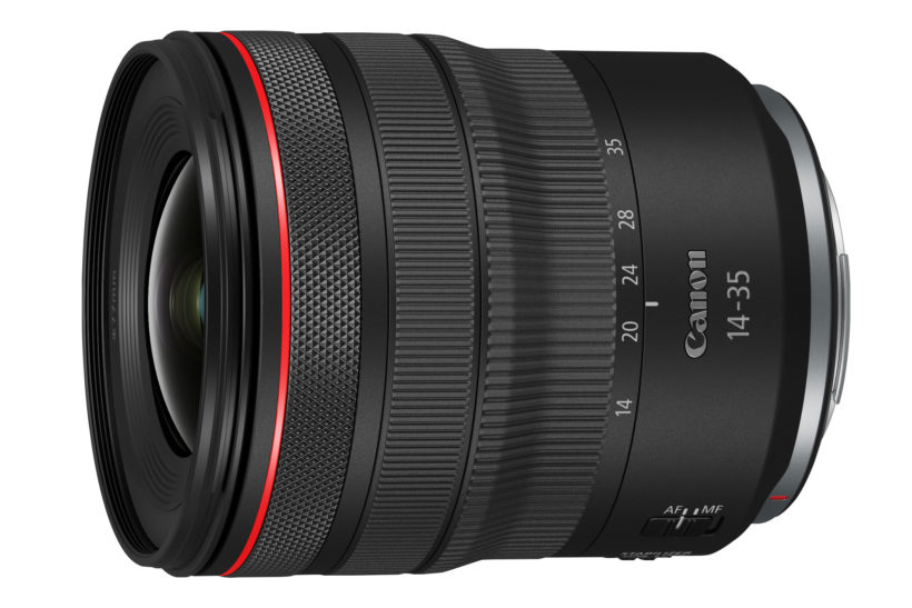 Canon launches compact RF 14-35mm F4L IS USM wide zoom