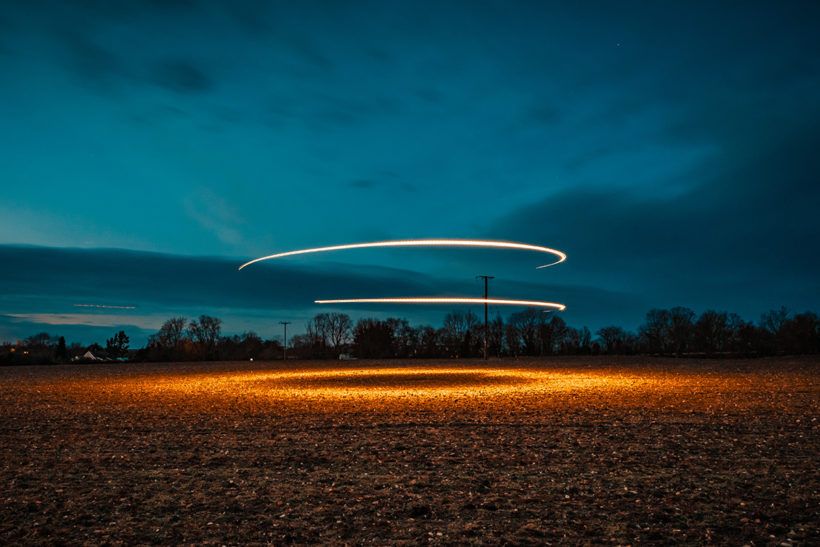 Canon reveals 'light in the dark' competition winner
