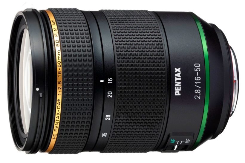 Ricoh launches all-new Pentax 16-50mm f/2.8
