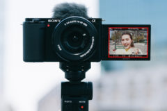 Sony ZV-E10 is a vlogger-friendly camera with interchangeable lenses