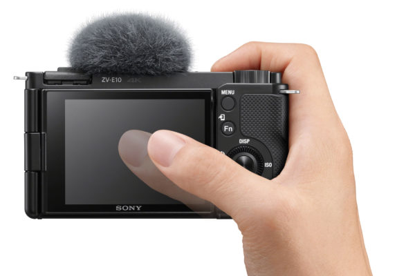 Sony cameras obviously do weird things to the reflection of your thumb