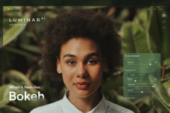 Add 'instant bokeh' to your portraits