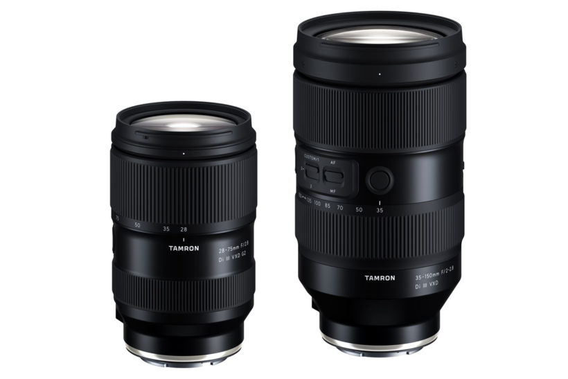Tamron 28-75mm F2.8 G2 and 35-150mm for E-Mount Official
