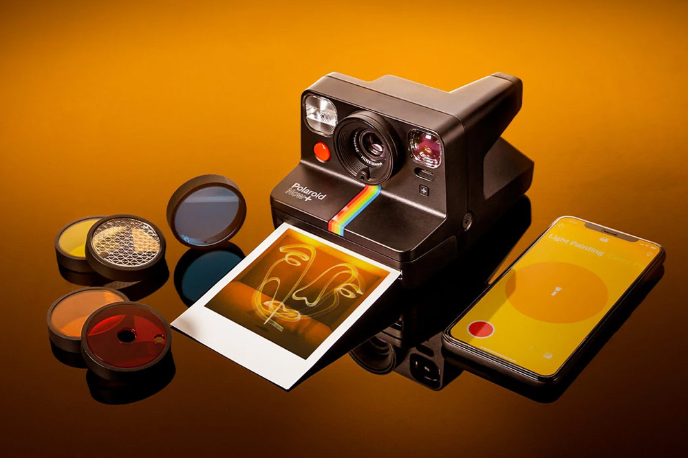 Polaroid Now Plus Camera with Filters