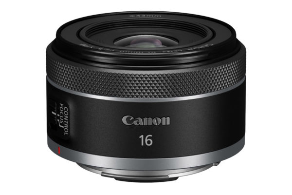 Small, lightweight Canon RF 16mm F2.8 STM prime 5