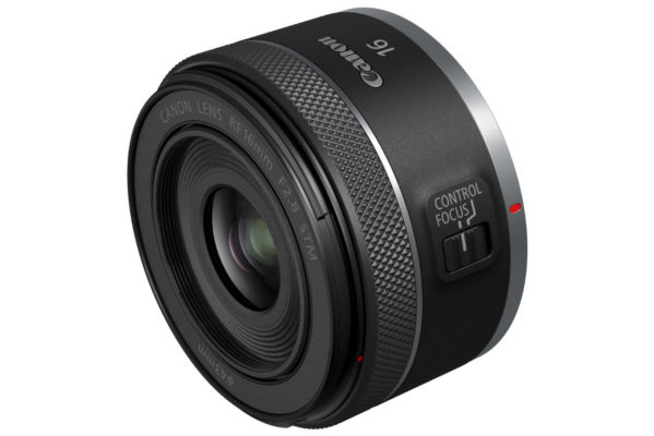 Small, lightweight Canon RF 16mm F2.8 STM prime 4