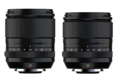 Fujifilm launches 23mm and 33mm f/1.4 XF lenses
