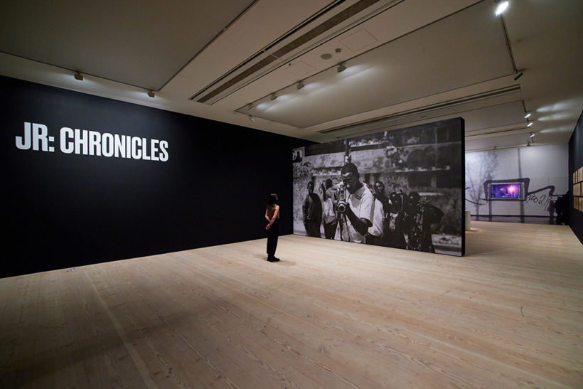 JR: Chronicles at Saatchi Gallery