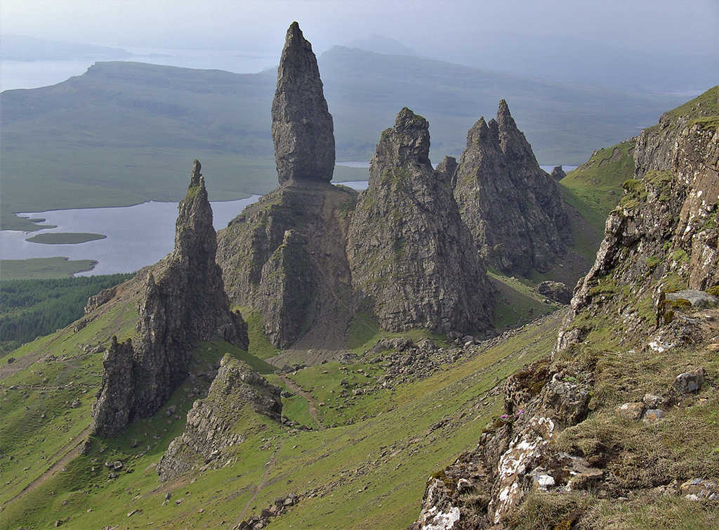 The Quiraing on Skye by Ken Critchley