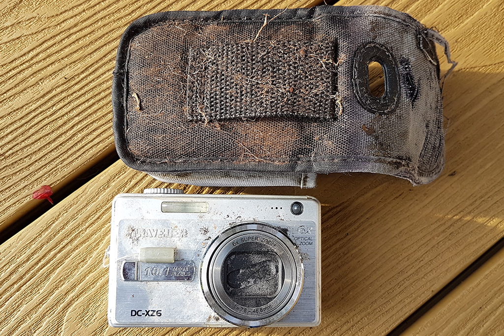 Traveler DC-XZ6 camera found after 12 years
