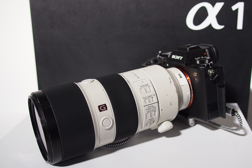Sony Alpha 1 with 70-200mm f2.8 Lens at TPS