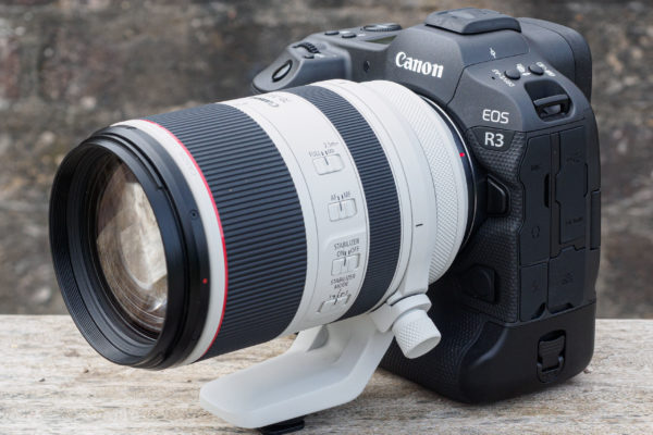 Canon EOS R3 fitted with the RF 70-200mm F2.8L IS USM lens