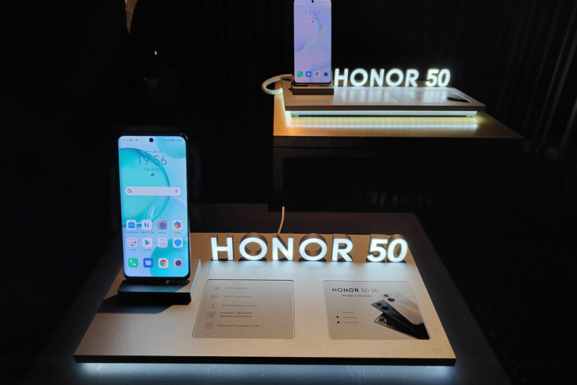 Honor 50 smartphone – hands-on first look