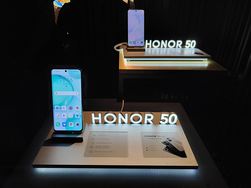 Honor 50 smartphone - hands-on first look 2