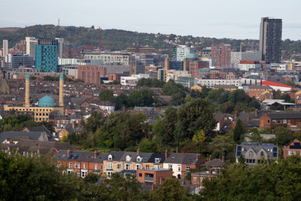 Sheffield from Meersbrook Park, 1/640s, f/5, ISO100, Sony 70-200mm at 200mm, with Sony A1, ACR