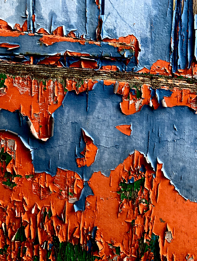 No. 351 of 365. Weathered paint. 2020