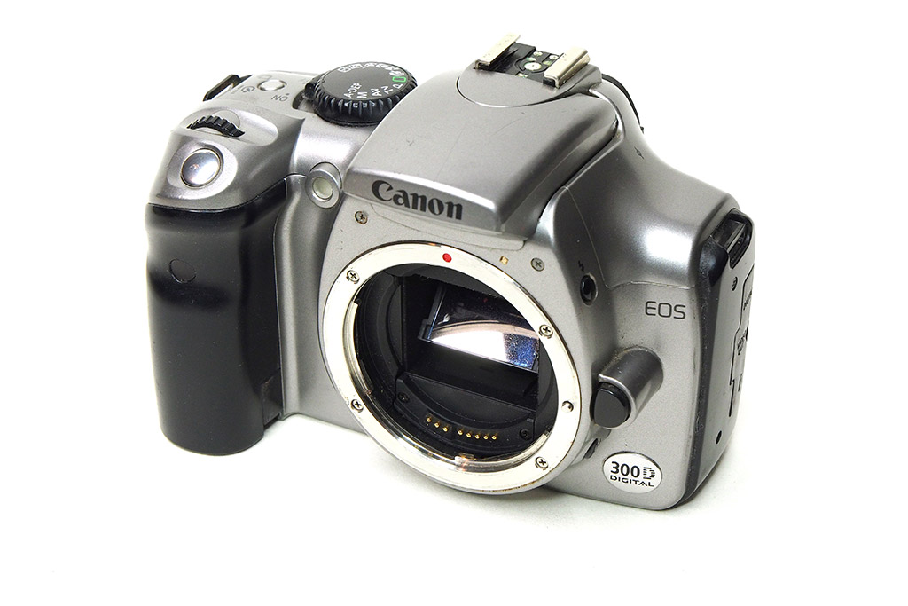 Used Canon EOS 300D (Silver)