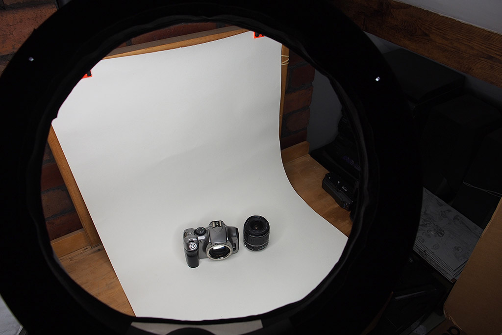 Lighting is key for taking great product shots for eBay