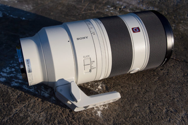 Sony FE 70-200mm F2.8 GM OSS II with click control