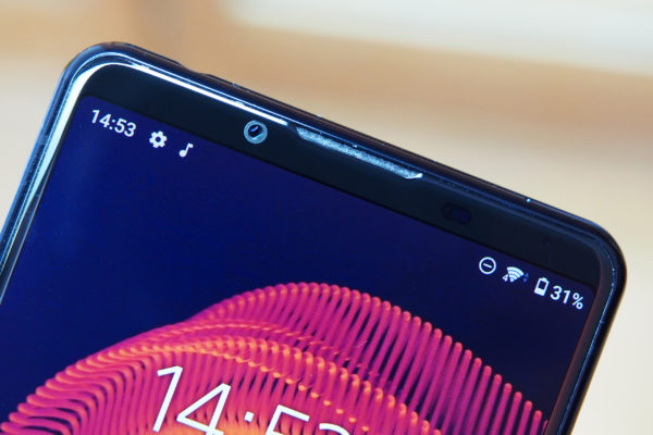 Xperia 5 III with no notch, and a small 8MP selfie camera