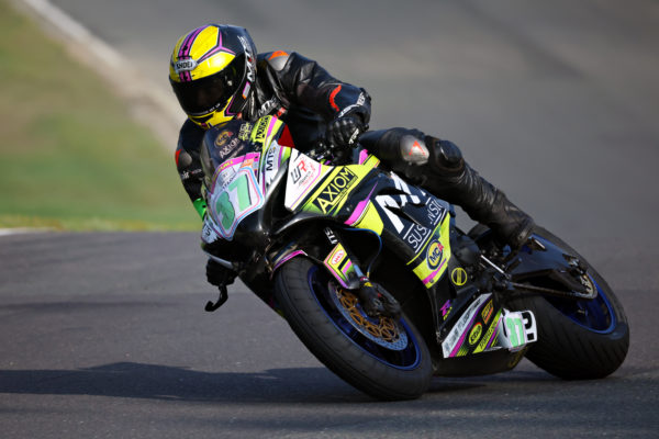 Canon EOS R3 and RF 800mm F11 IS STM motorcycle racing sample image